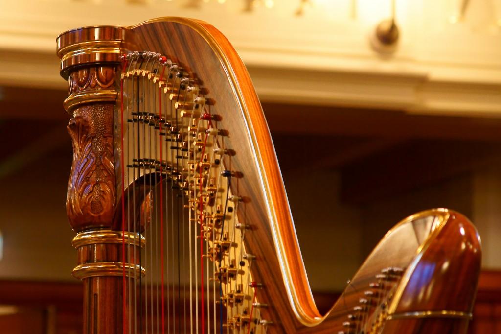 De David harp van Arrianne, stijl Philharmonie