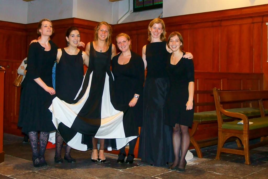 Met alle ensembleleden van het Master eindexamen juli 2012
